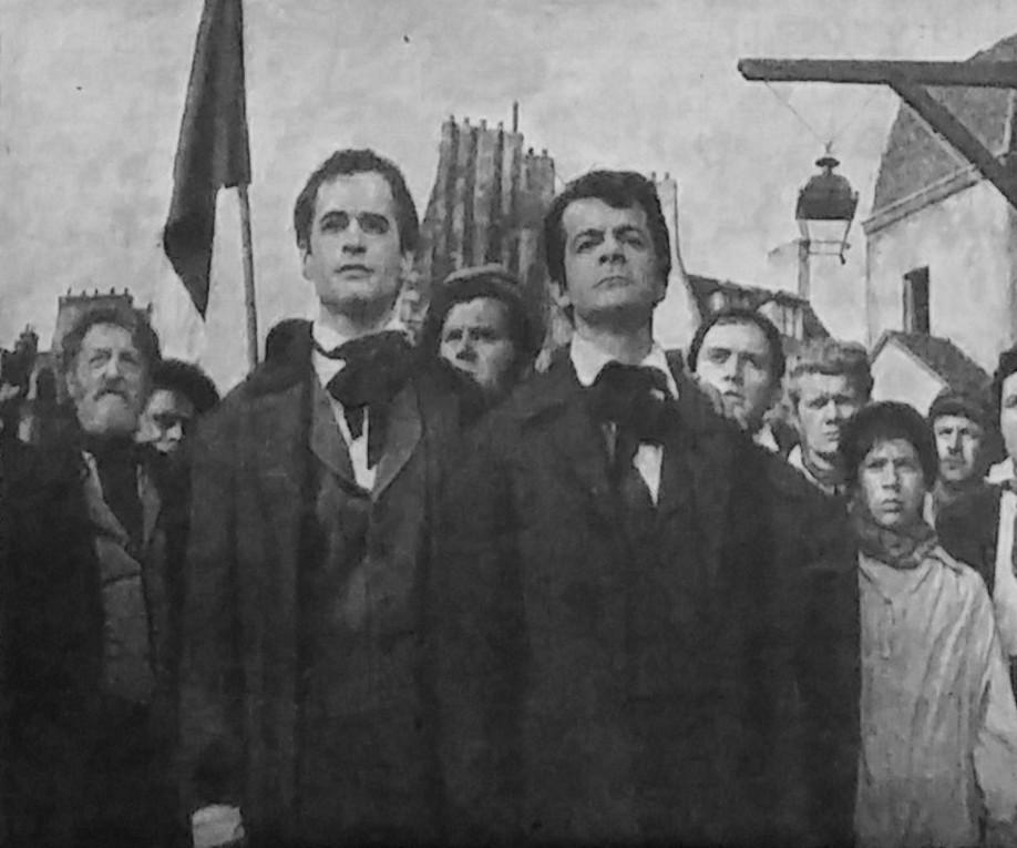 GE, Serge Reggiani dans Les misérables