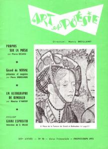 Art et poésie n°58 - Giani Esposito