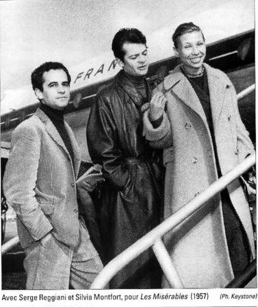 GE Serge Reggiani et Silvia Montfort (1957)