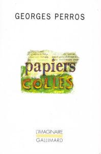 Texte sur Giani Esposito dans Papiers collés de Georges Perros