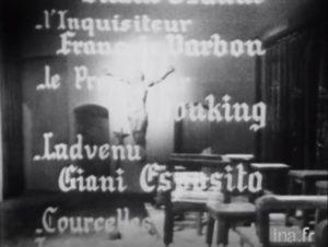 Giani Esposito-Sainte Jeanne 1956-Télé